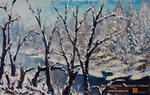 Valery Rybakow - Winter Landscape Painting by Gallery