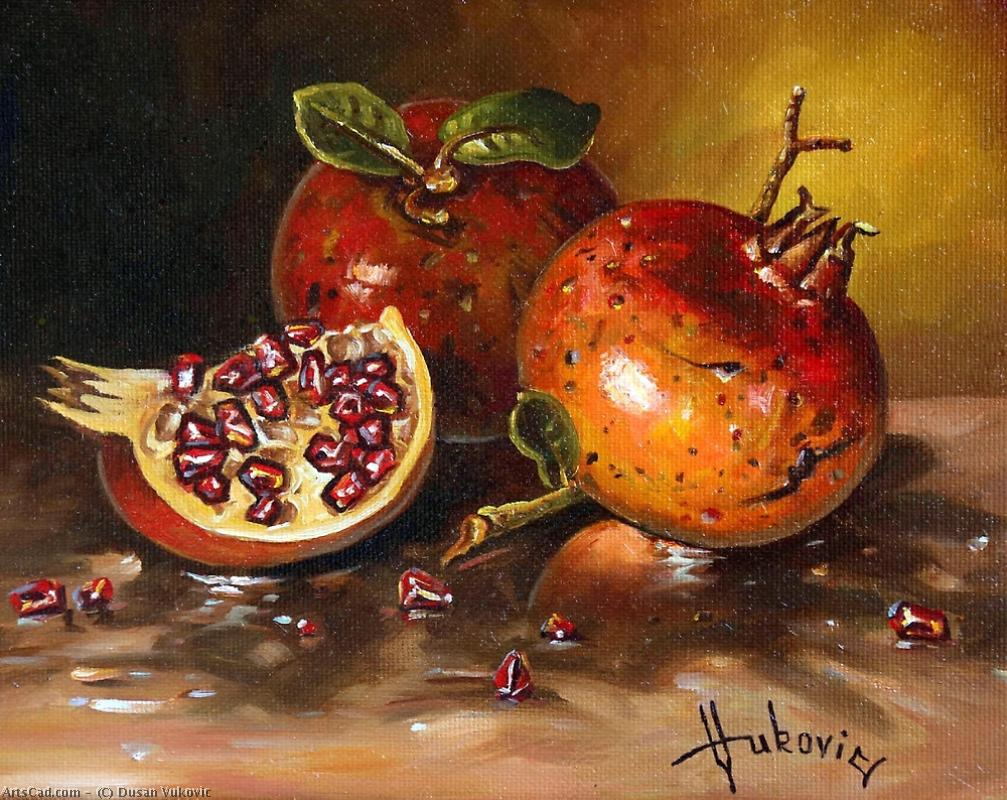 Artwork >> Dusan Vukovic >> Pomegranates