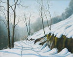 Lambot Jean-Marie - Path in the snow
