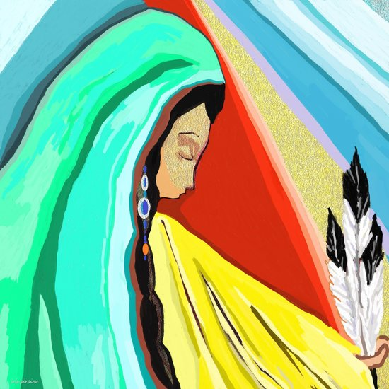 Artwork >> Iris Piraino >> the great spirit