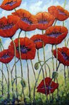 Richard T Pranke - Skyward Poppies_sold