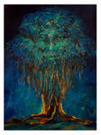 Yogesh Kumar Agrawal - tree and the monk