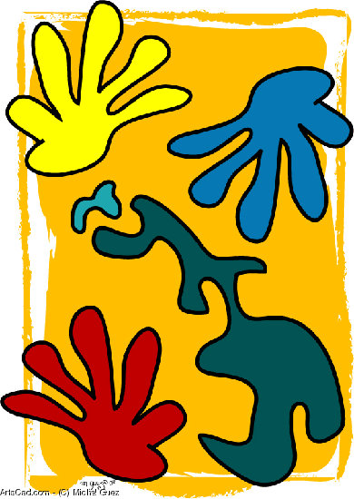 Artwork >> Michel Guez >> The 3   hands are