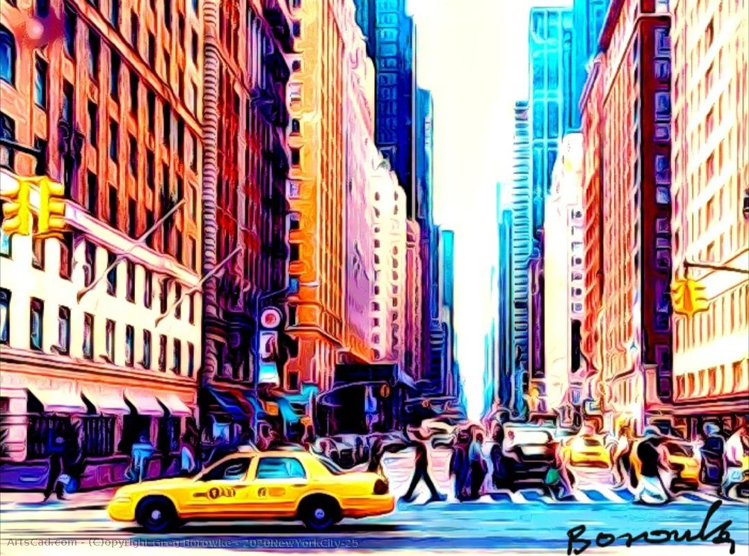 Artwork >> Greg Borowke >> 2020NewYorkCity#41