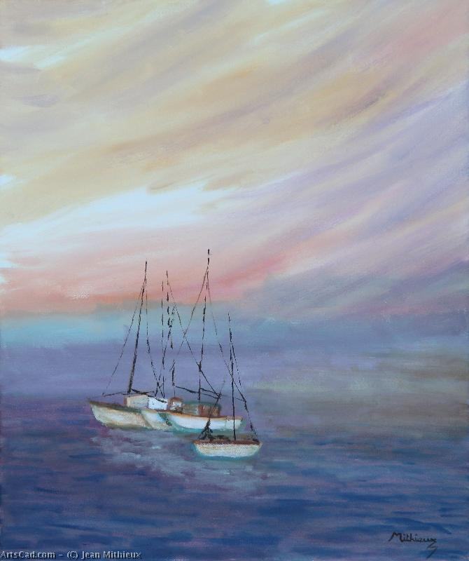 Artwork >> Jean Mithieux >> sailboats