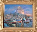 Jose Galvan - BOULDER D-IFACH CALPE AND PORT ( Spanish ) private collection La france
