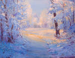 Julia Utiasheva - Winter path.