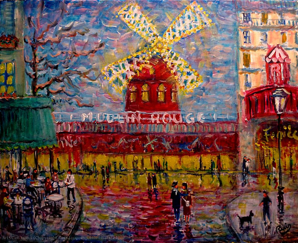 Artwork >> Ruiz Jacques >> Montmartre red mill