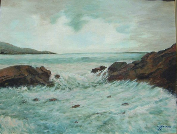 Artwork >> Gisèle Grana >> The Sea