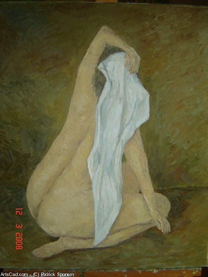 Artwork >> Patrick Sponem >> Naked at the draped