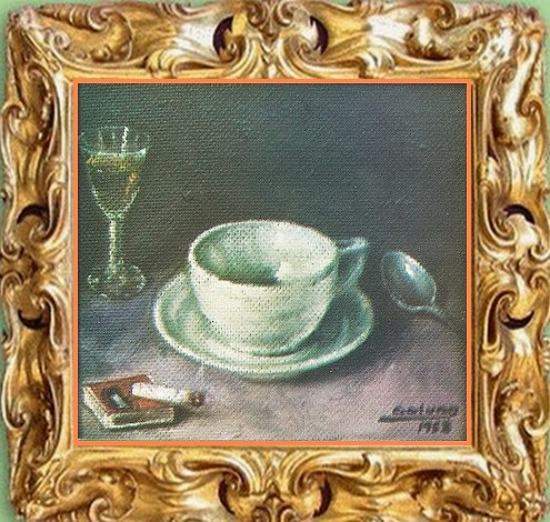 Artwork >> Jose Galvan >> TAZA ( coleccion privada jose angel albert boronat españa )