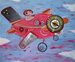 Catherine Suchocka - into aircraft SOLD.