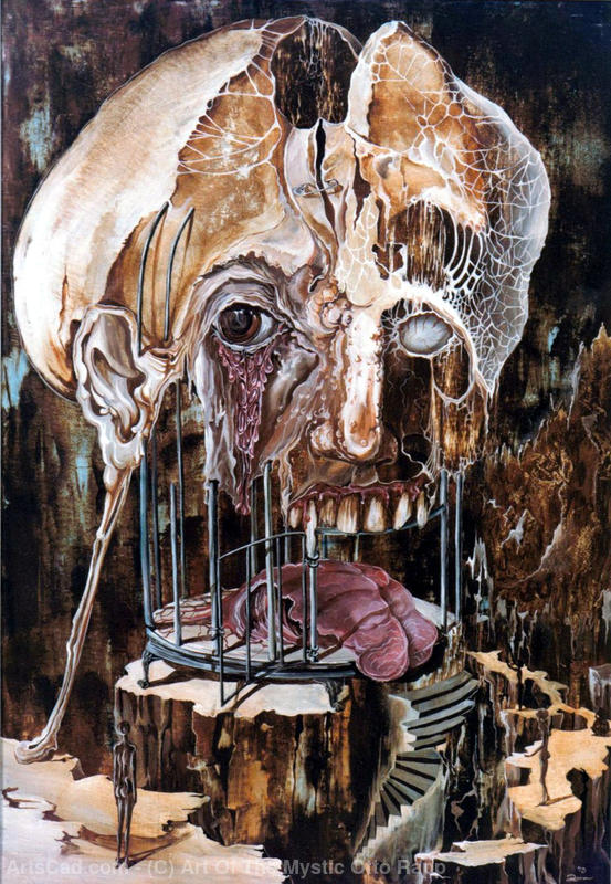 Artwork >> Art Of The Mystic Otto Rapp >> DETERIORATION OF MIND OVER MATTER