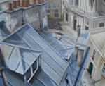 Marie-Claire Houmeau - Roofs of Paris 4