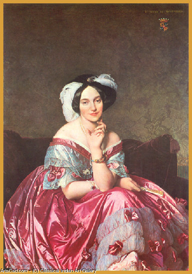 Artwork >> Classical Indian Art Gallery >> By - J.A.Dominique Ingres - Print