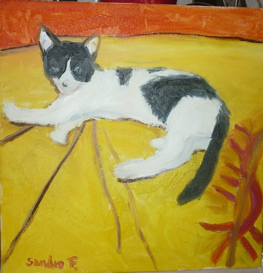 Artwork >> Falletta Sandro >> CAT ALIA