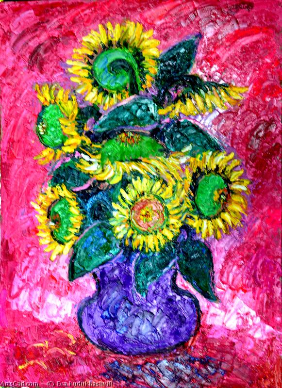 Artwork >> Eva Kudukhashvili >> Sunflower