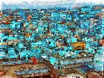 Ben Rotman - Streets in Turquoise