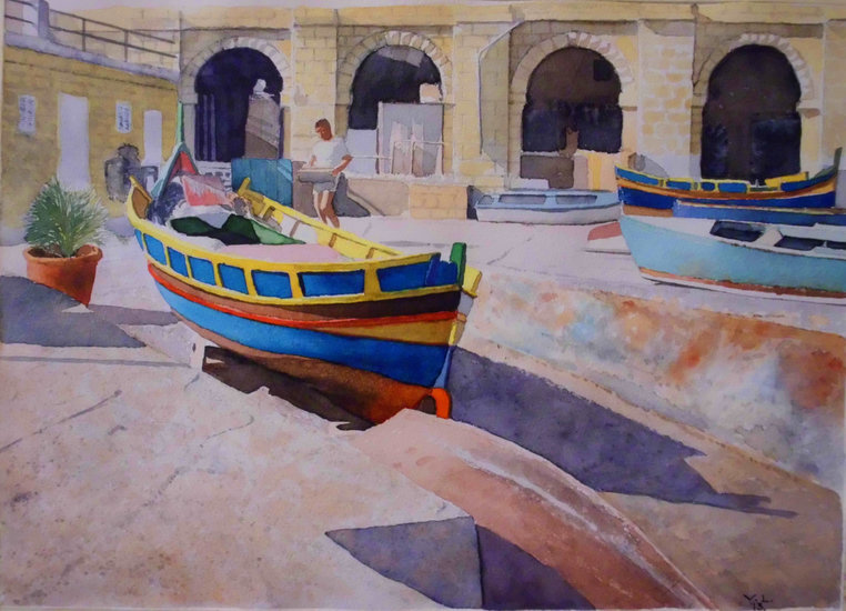 Artwork >> Vladan Lazarov >> spinola bay