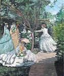 Volupté Naturelle - Women in the garden monet to
