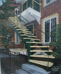 Réjean Bergeron - 15  stairway  from  The Montreal