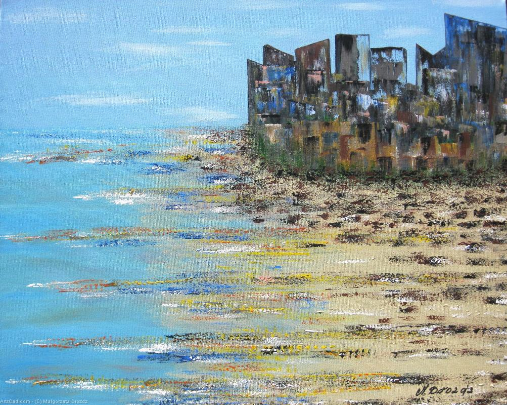 Art by Malgorzata Drozdz : Malgorzata Drozdz - The Beach City