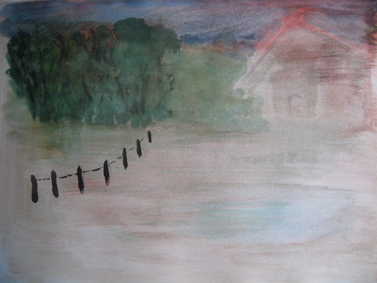 Artwork >> Ingrid Dohle Kamerbeek >> On a hazy day