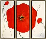Gallery Mitkov - -Poppies- triptych