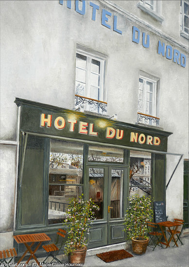 Artwork >> Marie-Claire Houmeau >> hotel of the  north