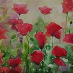 Oxana Zaika - Poppies in SOLD.