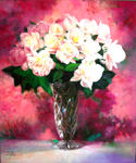 Libo Art Studio - White rose