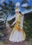 Salaun Margo - Young woman kazakh folklore of theworld