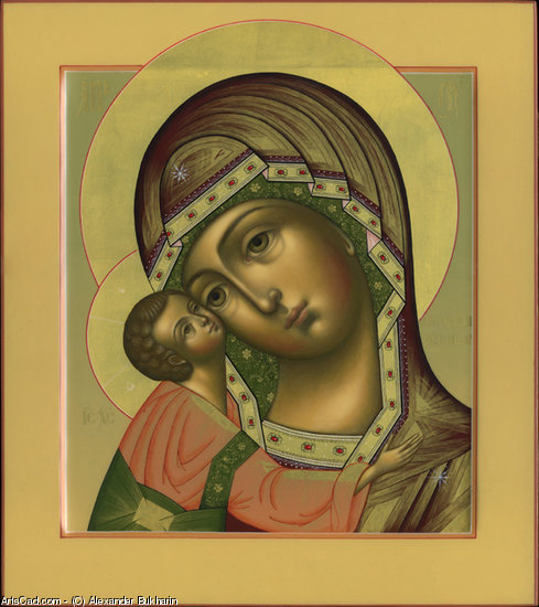 Artwork >> Alexander Bukharin >> Igorev icon of the Mother of God