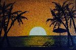 Zilla Arts - Beach sunset