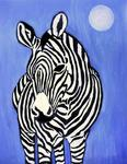 Iris Piraino - the zebra