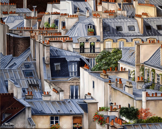 Artwork >> Marie-Claire Houmeau >> Life from above
