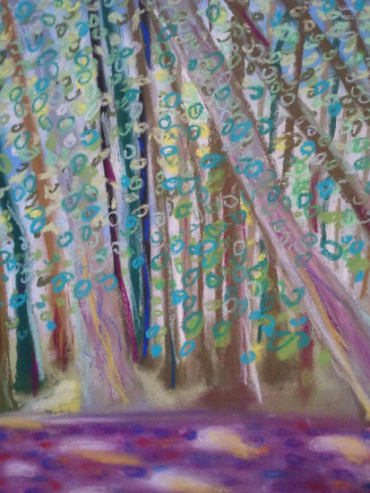 Artwork >> Pasqui R >> the light place in  The  trees
