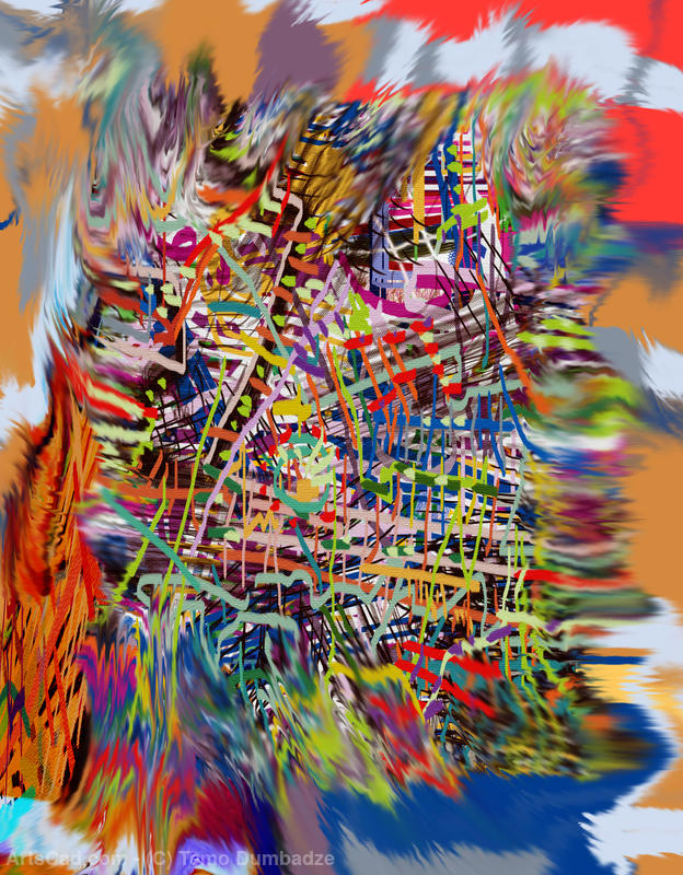 Artwork >> Temo Dumbadze >> ABSTRACT