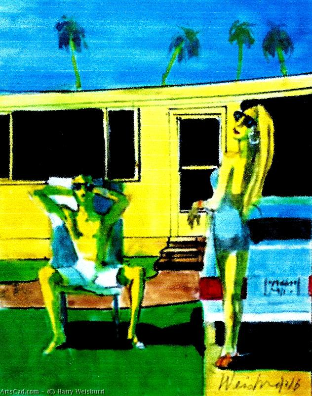 Artwork >> Harry Weisburd >> California Dreamin  On A Winters Day