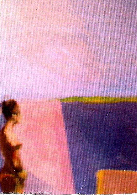Artwork >> Harry Weisburd >> FIGURE ON THE BEACH
