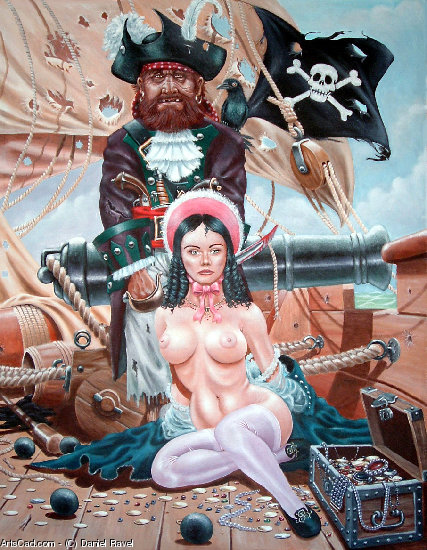 Artwork >> Daniel Ravel >> pirate