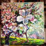 Maryna Danylovych - Blooming apple garden