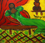 Inday Cadapan - Lady in Green Gown
