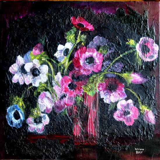 Artwork >> Sylviane Petit >> ANEMONES animated