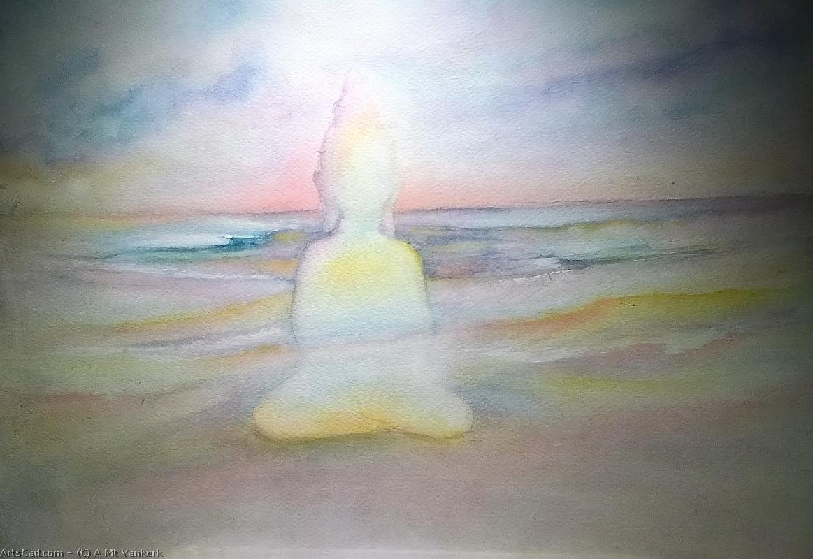 Artwork >> A Mt Vankerk >> meditation on there  beach