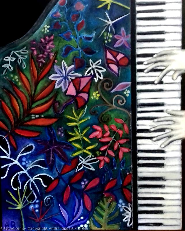 Artwork >> André Rippert >> piano