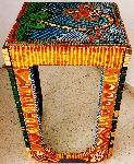 Mirit Ben-Nun - table solid wood acrylic painted authentic art mirit Ben-Nun