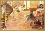 Classical Indian Art Gallery - By - Edgar Degas - Print