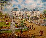 Ruiz Jacques - The paris garden of luxembourg
