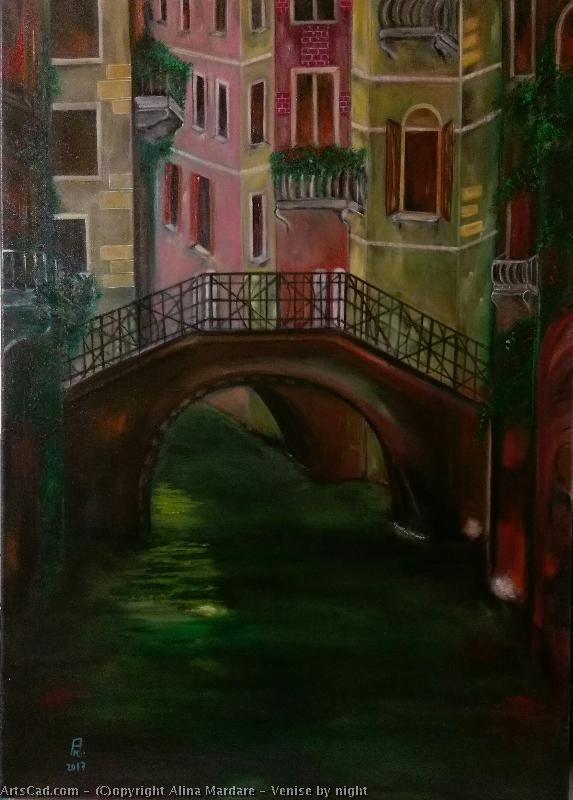 Artwork >> Alina Mardare >> Venice by night